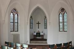 Chorschluss Kapelle Friedhof
